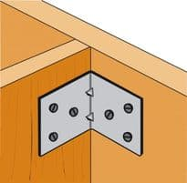 Simpson Strong Tie Light Reinforced Angle Bracket - 70 x 50 x 60